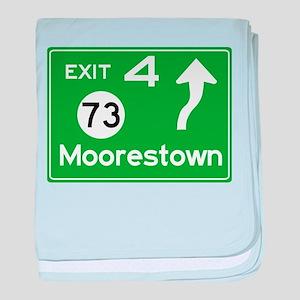 NJTP Logo-free Exit 4 Moorestown baby blanket