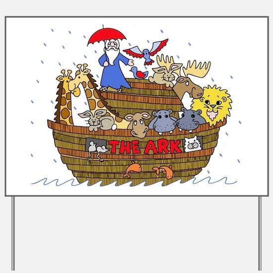 Noah's Ark Yard Sign