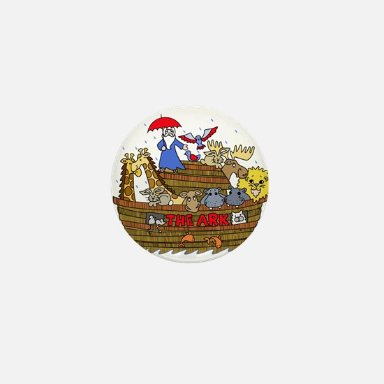 Noah's Ark Mini Button