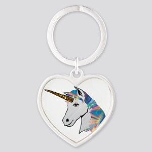 glitter unicorn Keychains