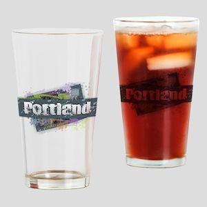 Portland Design Drinking Glass