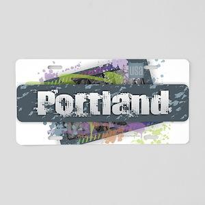Portland Design Aluminum License Plate