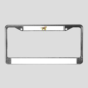 Palomino Carousel Horse License Plate Frame