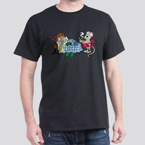Mouse Mom Caring for Sick Child T-Shirt