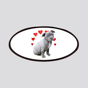 Valentine's Pitbull Puppy Patch