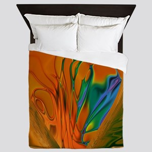 Abstract Heart Queen Duvet