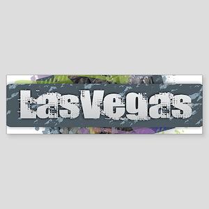Las Vegas Design Bumper Sticker