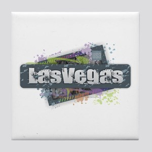Las Vegas Design Tile Coaster
