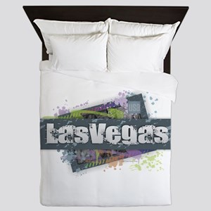 Las Vegas Design Queen Duvet