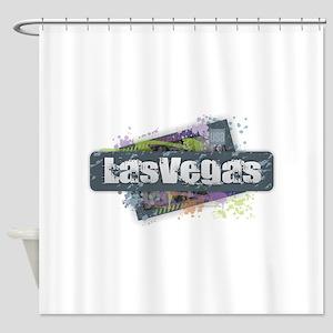 Las Vegas Design Shower Curtain