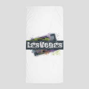 Las Vegas Design Beach Towel