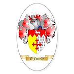 O'Farrelly Sticker (Oval 10 pk)