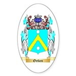 Oetken Sticker (Oval 10 pk)