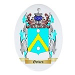 Oetken Oval Ornament