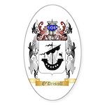O'Driscoll Sticker (Oval 50 pk)