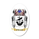 O'Driscoll 20x12 Oval Wall Decal