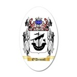 O'Driscoll 35x21 Oval Wall Decal