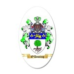 O'Dowling 20x12 Oval Wall Decal