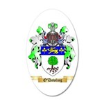 O'Dowling 35x21 Oval Wall Decal