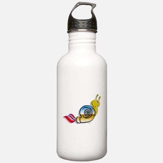 Turbo Snail colors Water Bottle