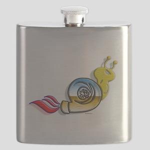 Turbo Snail colors Flask