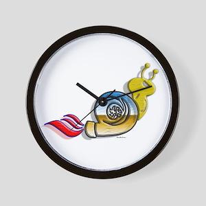 Turbo Snail colors Wall Clock