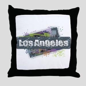 Los Angeles Design Throw Pillow