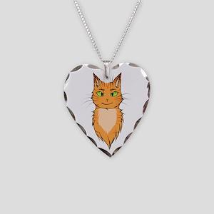 Warriors: Firestar Necklace Heart Charm