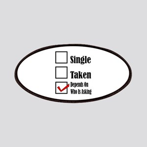 Single ready to mingle Patch