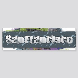 San Francisco Design Bumper Sticker