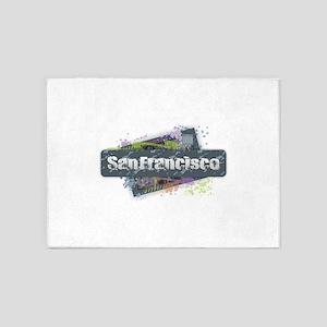 San Francisco Design 5'x7'Area Rug
