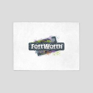 Fort Worth Design 5'x7'Area Rug