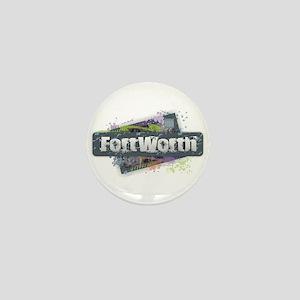 Fort Worth Design Mini Button