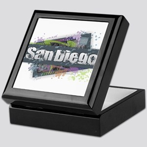 San Diego Design Keepsake Box
