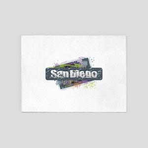 San Diego Design 5'x7'Area Rug