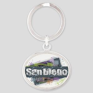 San Diego Design Keychains