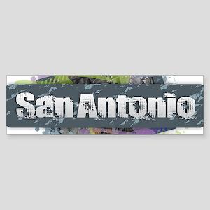 San Antonio Design Bumper Sticker