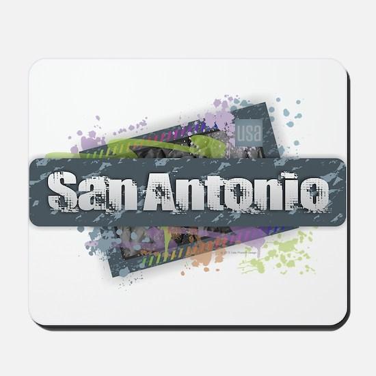San Antonio Design Mousepad