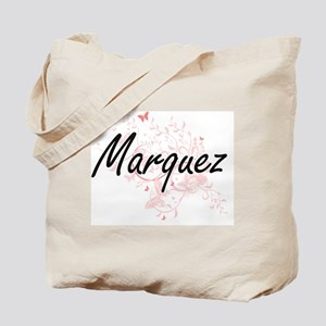 Marquez surname artistic design with Butt Tote Bag