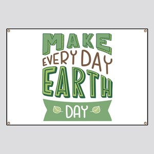 Every Day Earth Day Banner