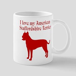 I Love my Dog 11 oz Ceramic Mug