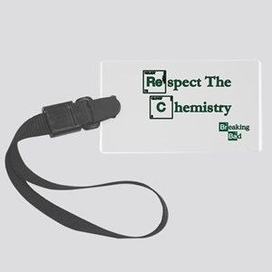 BREAKINGBAD RESPECT CHEMISTRY Large Luggage Tag