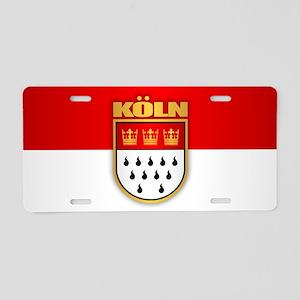Koln Aluminum License Plate