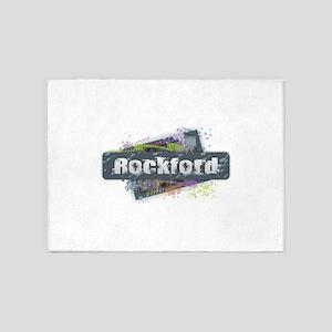 Rockfold Design 5'x7'Area Rug