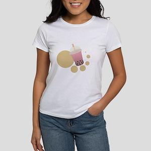 Strawberry Bubble Tea Women's T-Shirt