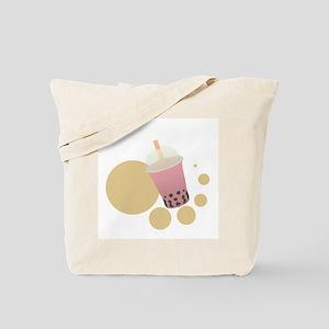 Strawberry Bubble Tea Tote Bag