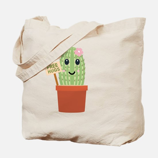 Funny Cactus Tote Bag