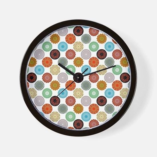 MANDALAS Wall Clock