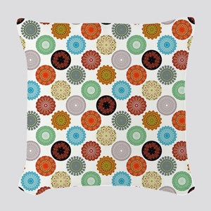 MANDALAS Woven Throw Pillow