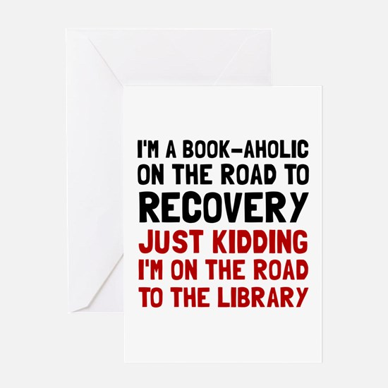 Funny book Greeting Card